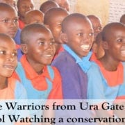 Bringing the wildlife to the classroom for the warriors