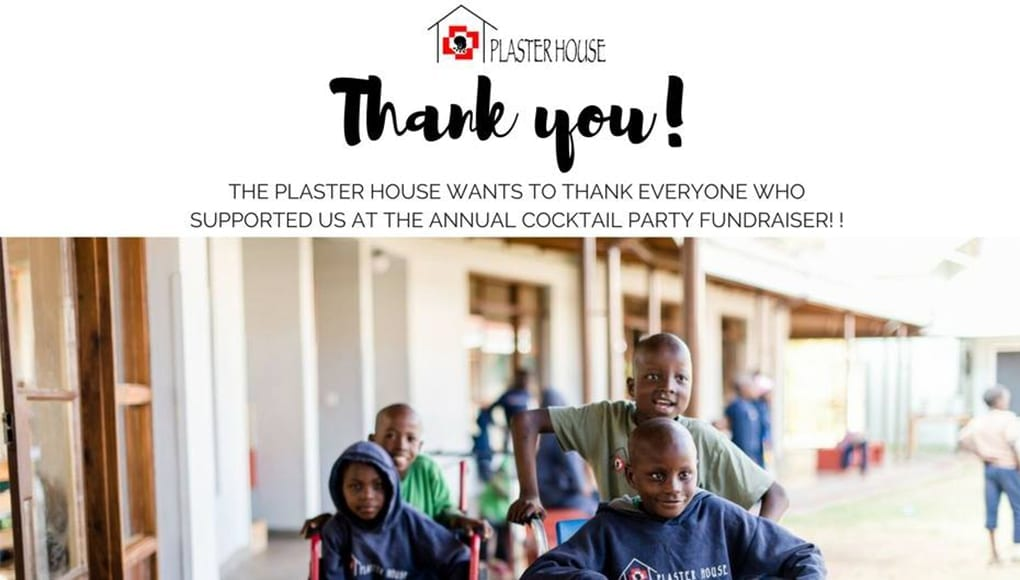 Over $20,000 for Plaster House!